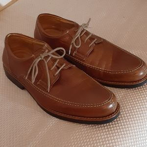 Mens Sandro Moscolino Leather Lace Up Oxfords.